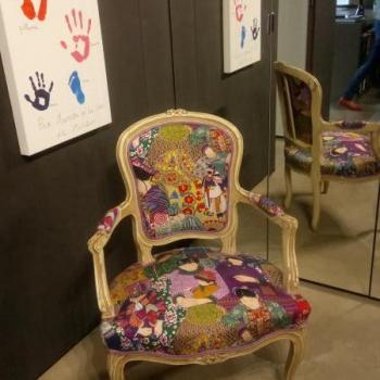 fauteuil cabriolet louis XV Lyon
